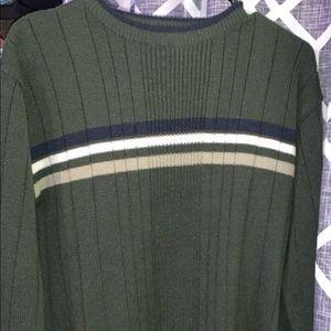 cute vintage sweater with semi turtleneck